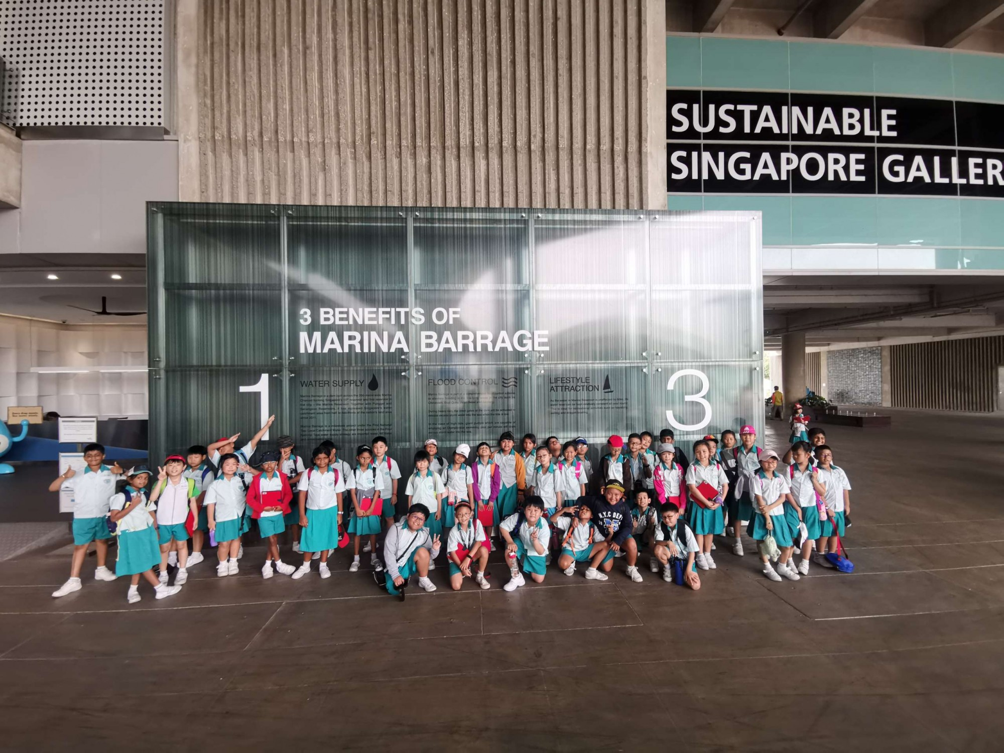 P3 Learning Journey to Marina Barrage