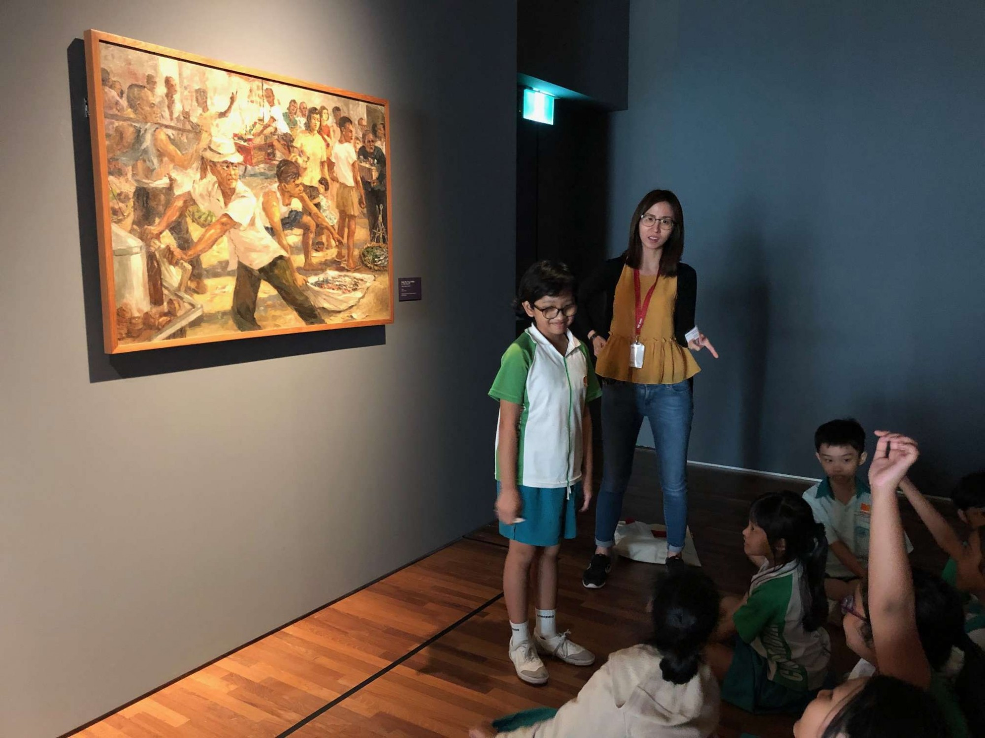 P4 Learning Journey to National Gallery Singapore